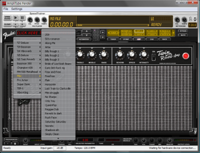 AmpliTube Fender Screenshot